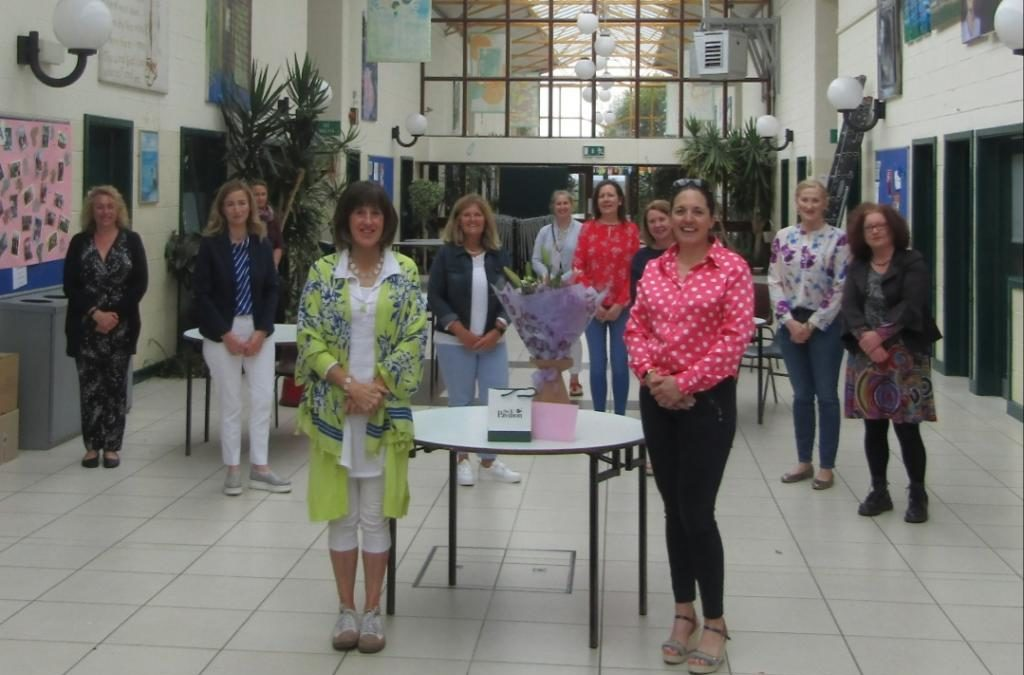 PA presentation to the Principal on her retirement