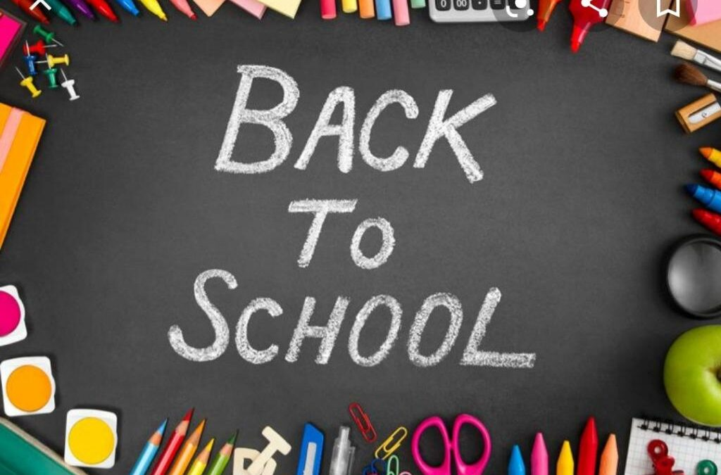 Back to school update, uniform, booklists……