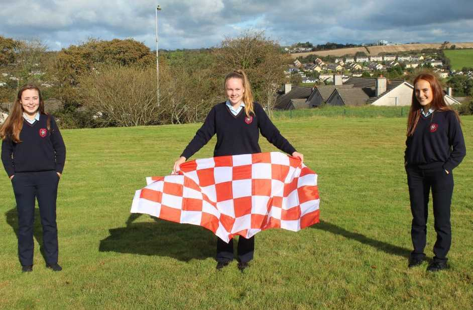 Courcey Rovers students celebrate Senior County Camogie success!