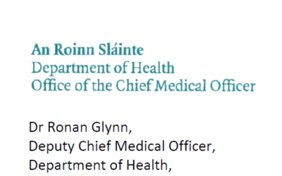 Letter from Deputy Chief Medical Officer to all Parents regarding return to school protocols