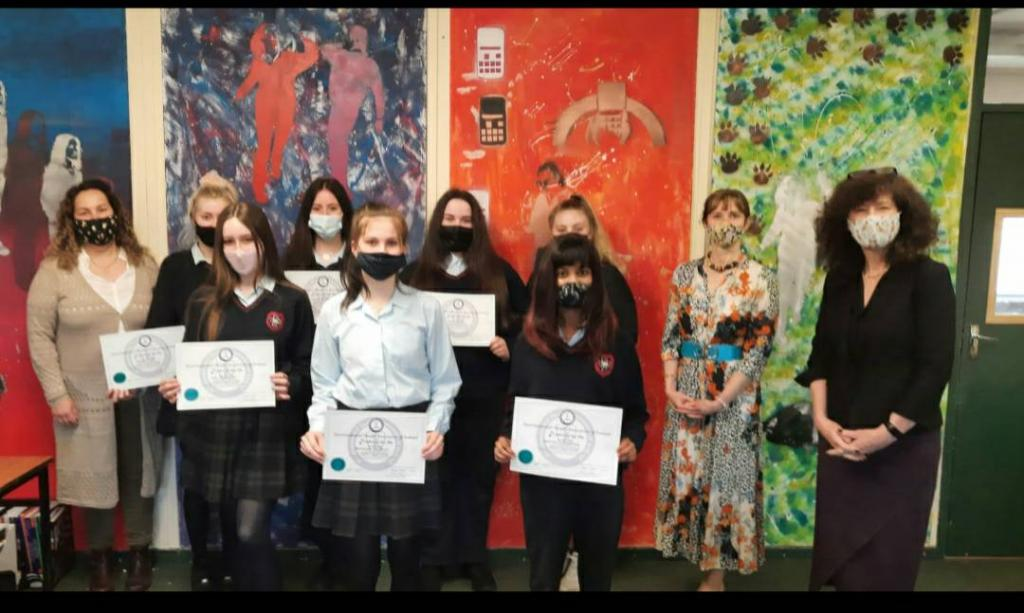 LCA students awarded with 'Safe Food for Life' certificates